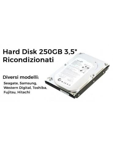 """Hard Disk 250GB 3,5"""" Ricondizionati"""