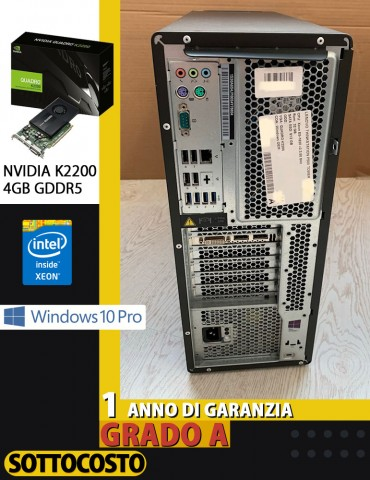 Workstation Lenovo ThinkStation P500 Xeon E5-1620 V3, 32Gb DDR4, 512Gb SSD, NVIDIA Quadro K2200