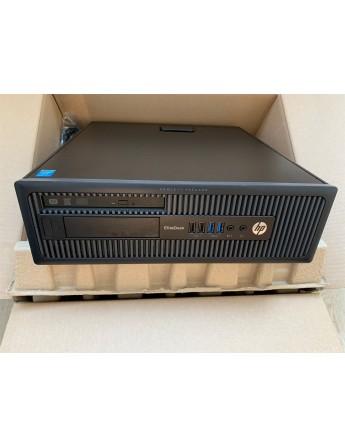 HP EliteDesk 800 G1 SFF  i5-4570 / RAM 8GB / 500GB-HDD / DVD / W10P MAR