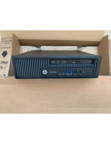 "HP EliteDesk 800 G1 USDT  i5-4590S / RAM 12GB / 256GB-SSD / DVDRW / W10P COA-Monitor NUOVO Philips22""FullHD+Tast,Mouse e Wi-Fi"