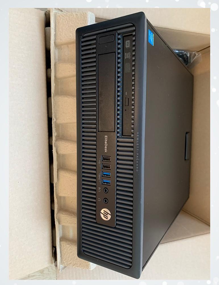 HP EliteDesk 800 G1 SFF  i7-4770 / RAM 8GB / 500GB-HDD / DVDRW / W10P MAR