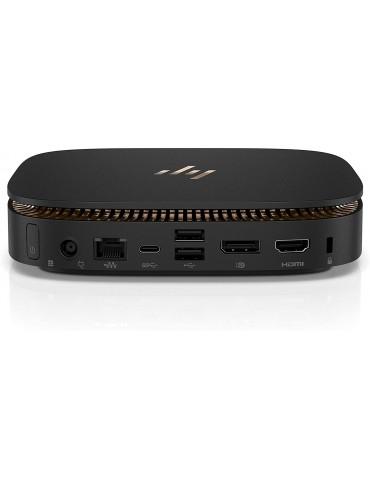 HP Elite Slice USFF Mini PC i5-6500T | Ram 8Gb | SSD 256Gb | Windows 10 Pro | USB-C | Hdmi e Display port- GRADO A