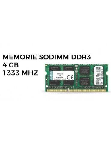 MEMORIE SODIMM DDR3 4 GB 1333 MHZ