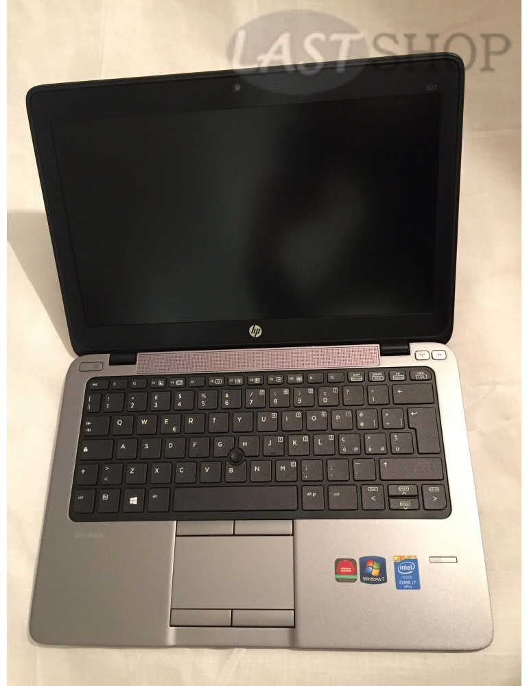 HP ELITEBOOK 820 G1 i7-4600U/8Gb RAM/128GB SSD/12.5 Pollici HD/NO COA