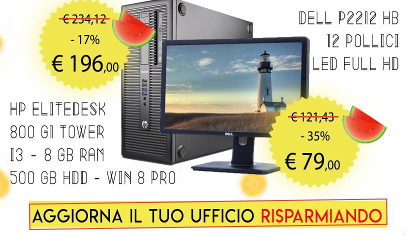"""Monitor Philips 231P4Q 23"""" LCD Silver/Black Ricondizionato"""